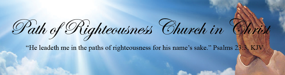 the path of righteousness In the path of righteousness is life, and in its pathway there is no death matthew 5:6 esv / 59 helpful votes helpful not helpful.